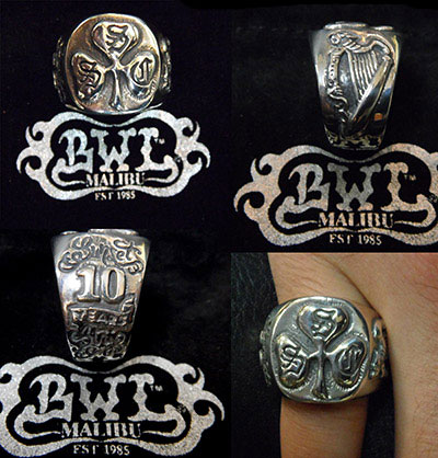 Shamrock Social Club Ring